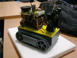 Another shot of the version 2.5 of the Orugas robot