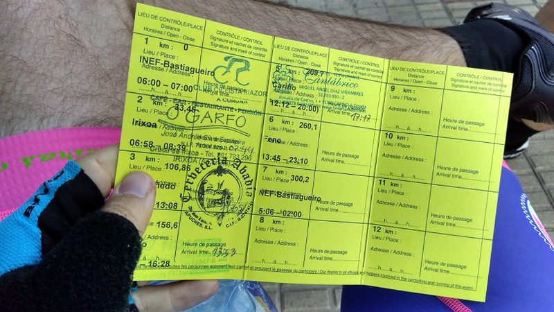 Fourth stamp on my brevet card