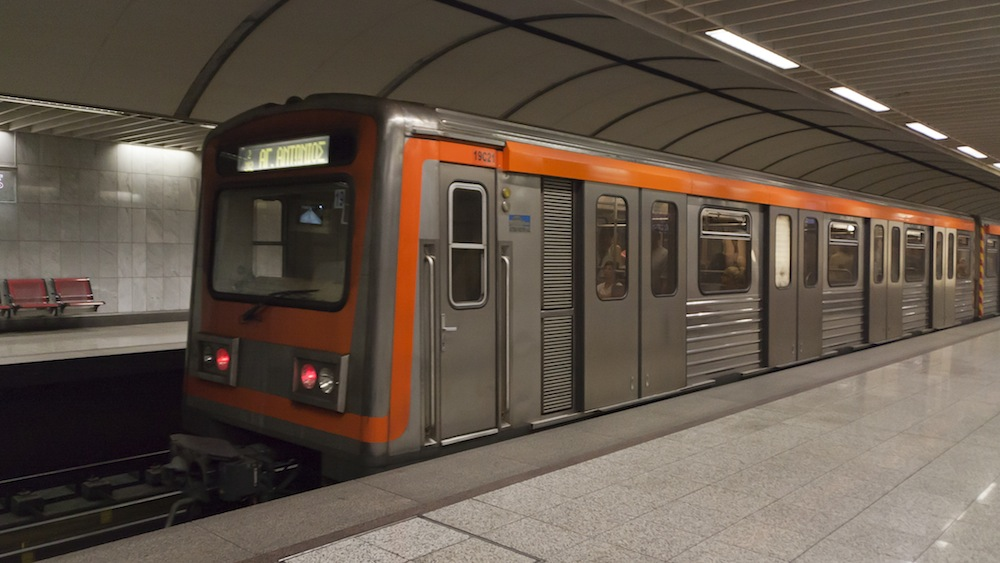 Image of the Athens Metro, from the wikipedia