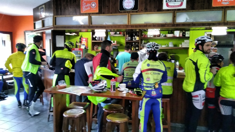 The café in Ponteceso, lots of cyclists there (1)