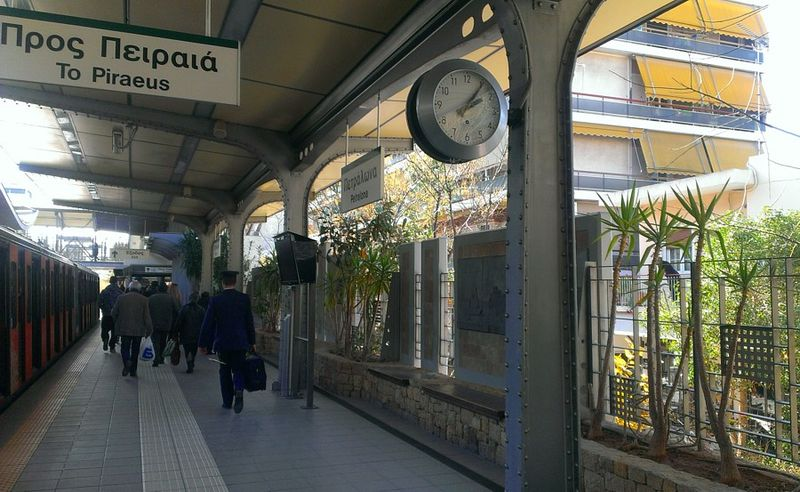 The Metro station of Petralona, image from the wikipedia