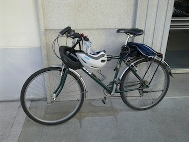 This is my father's old trekking bike