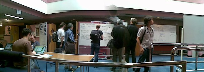Whiteboards all over the place