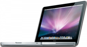 The unibody aluminium MacBook