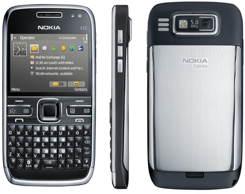 "Nokia E72, my new ""smart"" phone"