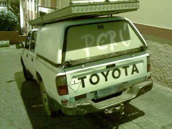The perl car, powered by toyota