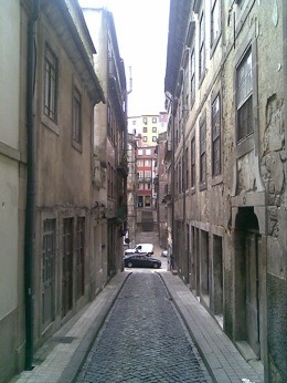 In some of then you can even touch the walls of buildings located on both sides of the street just open your arms wide.